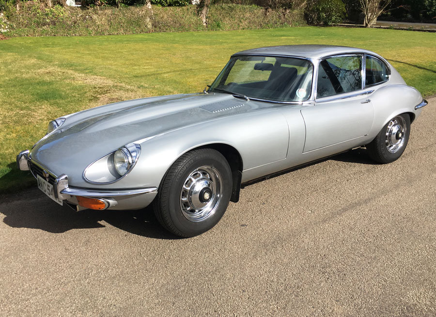 1972 Jaguar E-Type V12 Coupe For Sale (picture 1 of 6)