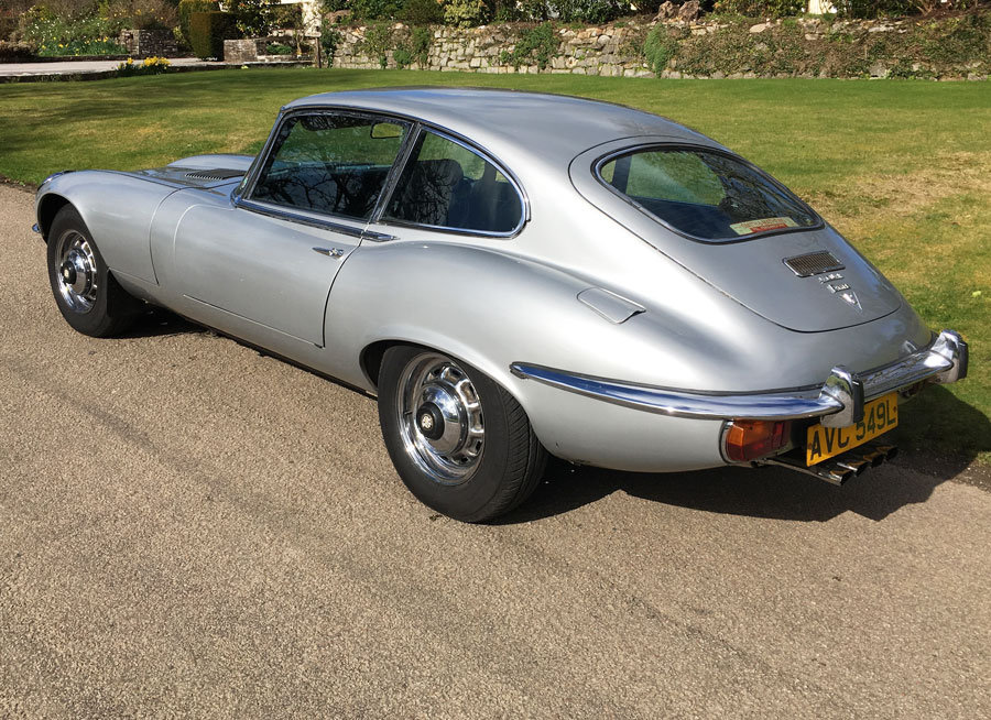 1972 Jaguar E-Type V12 Coupe SOLD (picture 2 of 6)