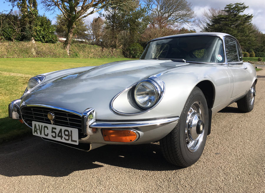 1972 Jaguar E-Type V12 Coupe For Sale (picture 3 of 6)