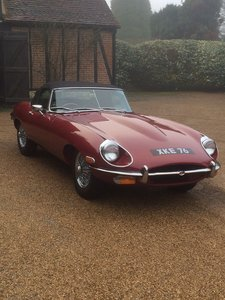1968 Jaguar E-Type Series 2 Roadster