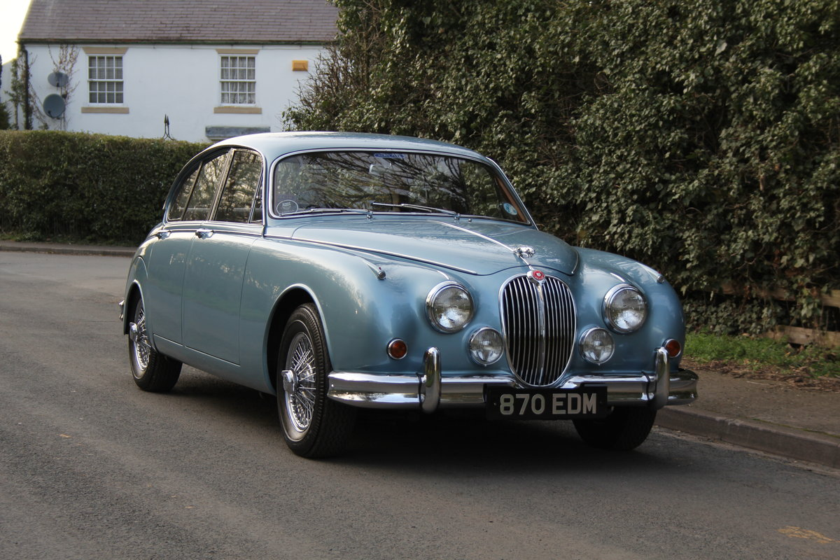 1963 Jaguar MKII 3.4 Manua lO/D, 28500 miles, matching numbers SOLD (picture 1 of 12)