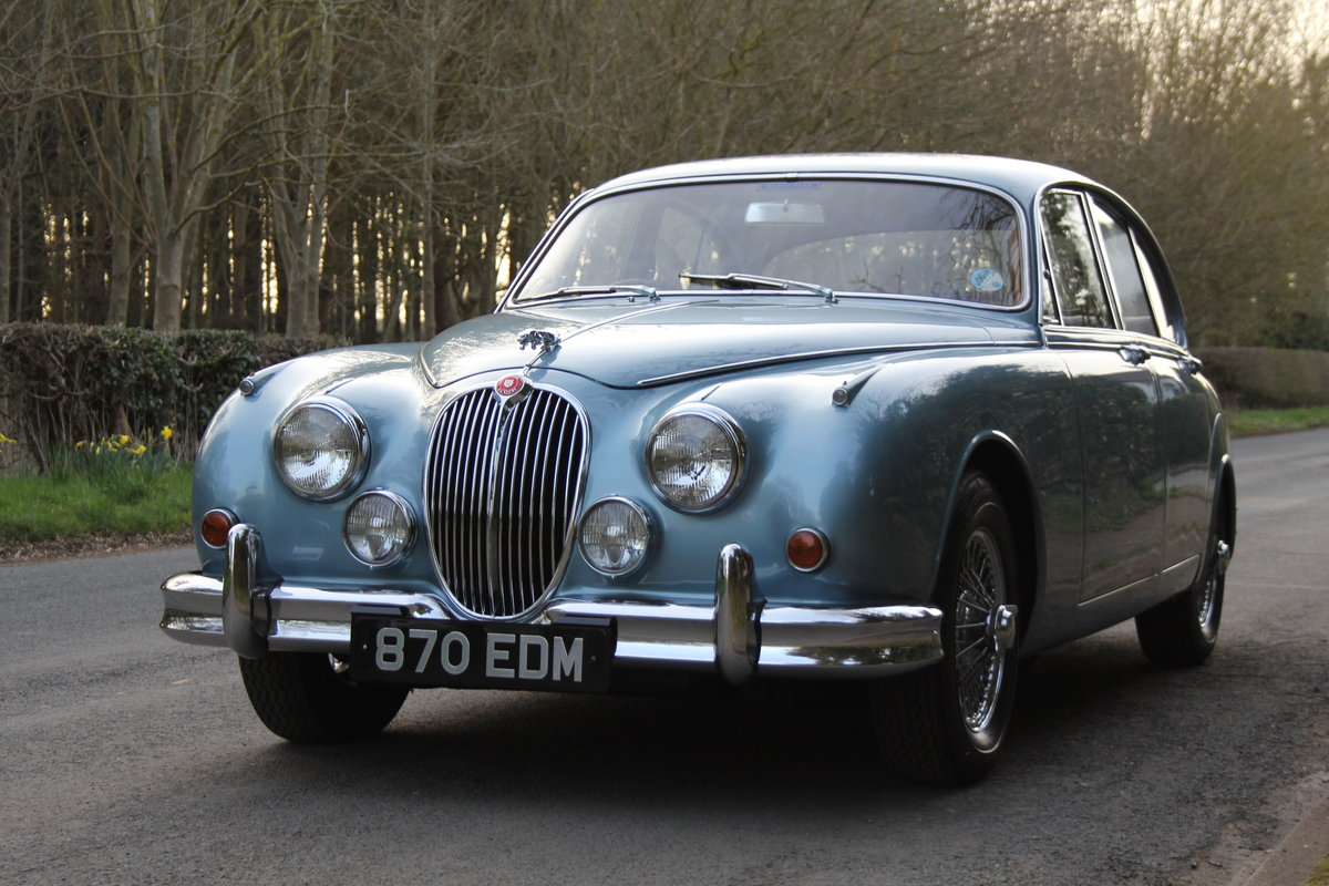 1963 Jaguar MKII 3.4 Manua lO/D, 28500 miles, matching numbers SOLD (picture 2 of 12)