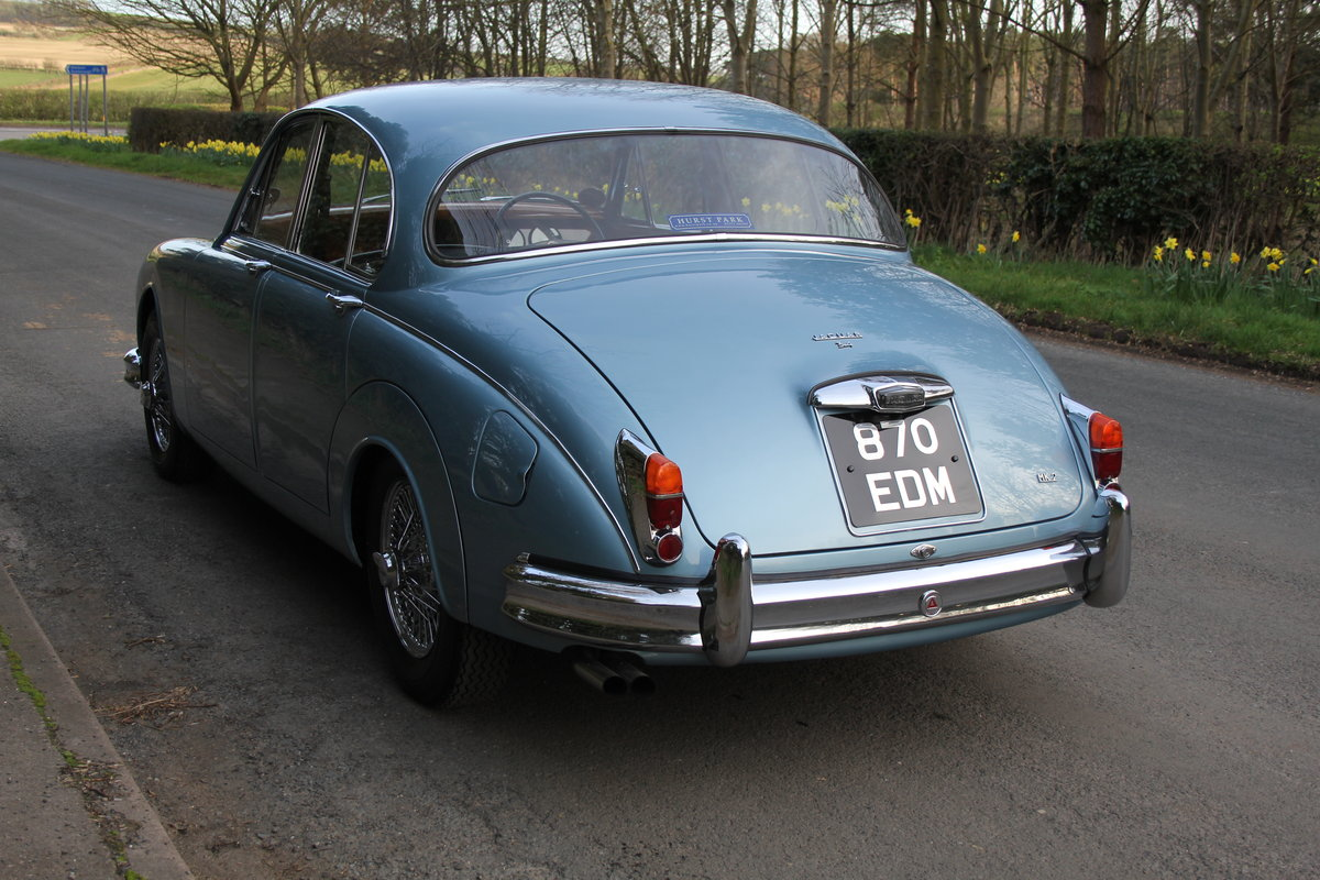 1963 Jaguar MKII 3.4 Manua lO/D, 28500 miles, matching numbers SOLD (picture 3 of 12)