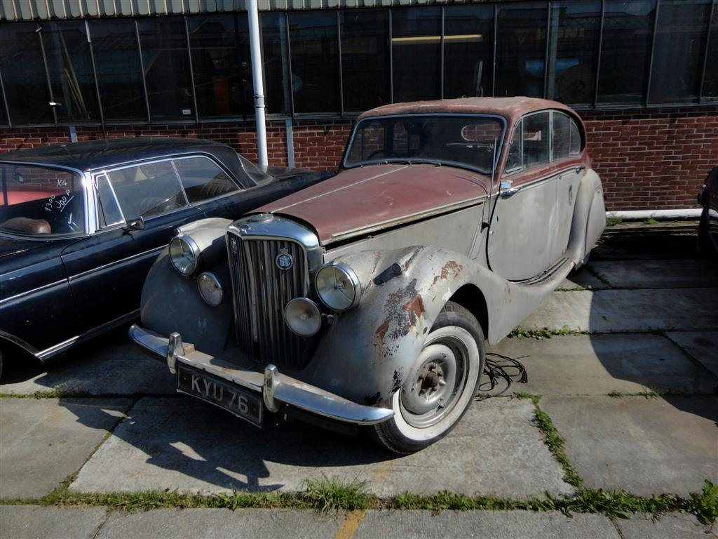 1950 Jaguar MK5 RHD to restore For Sale (picture 1 of 6)