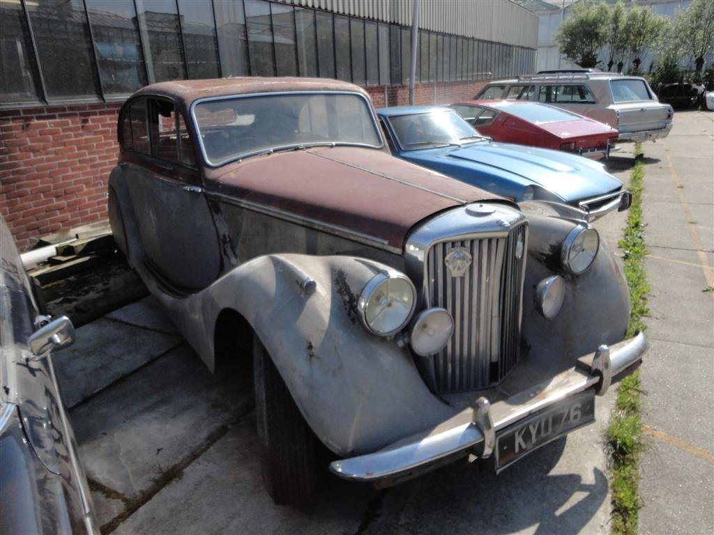 1950 Jaguar MK5 RHD to restore For Sale (picture 2 of 6)