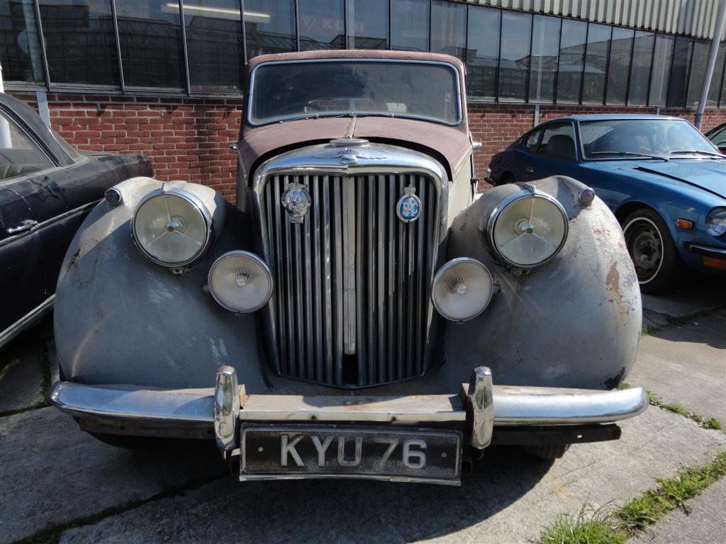 1950 Jaguar MK5 RHD to restore For Sale (picture 4 of 6)