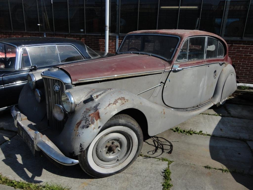 1950 Jaguar MK5 RHD to restore For Sale (picture 6 of 6)