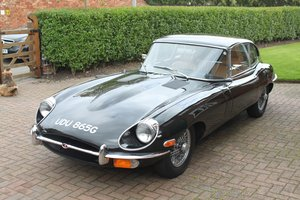 1969 Jaguar E-type Series 2, 2+2 Coupe For Sale