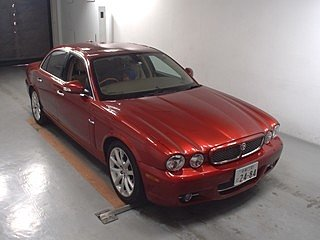 2008 Jaguar Sovereign X358 27k miles Radiance red perfect example For Sale (picture 1 of 6)