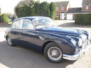 1962 Jaguar MKII 2.4 at ACA 13th April