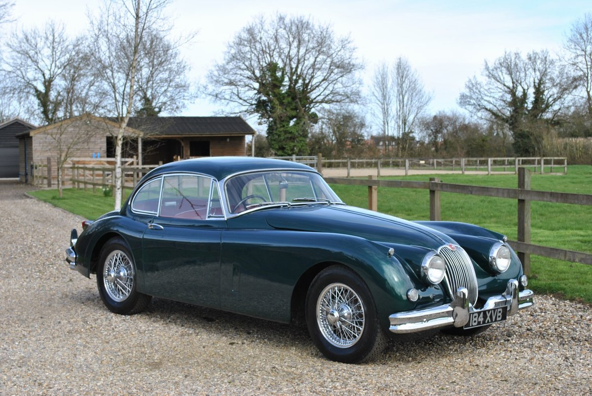 1958 Jaguar XK150 Moss Box with Overdrive Classic Car / Vintage C SOLD (picture 1 of 6)