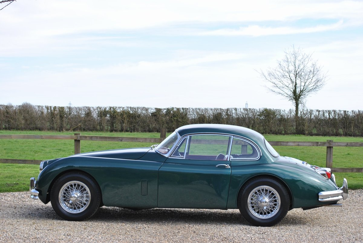 1958 Jaguar XK150 Moss Box with Overdrive Classic Car / Vintage C SOLD (picture 2 of 6)