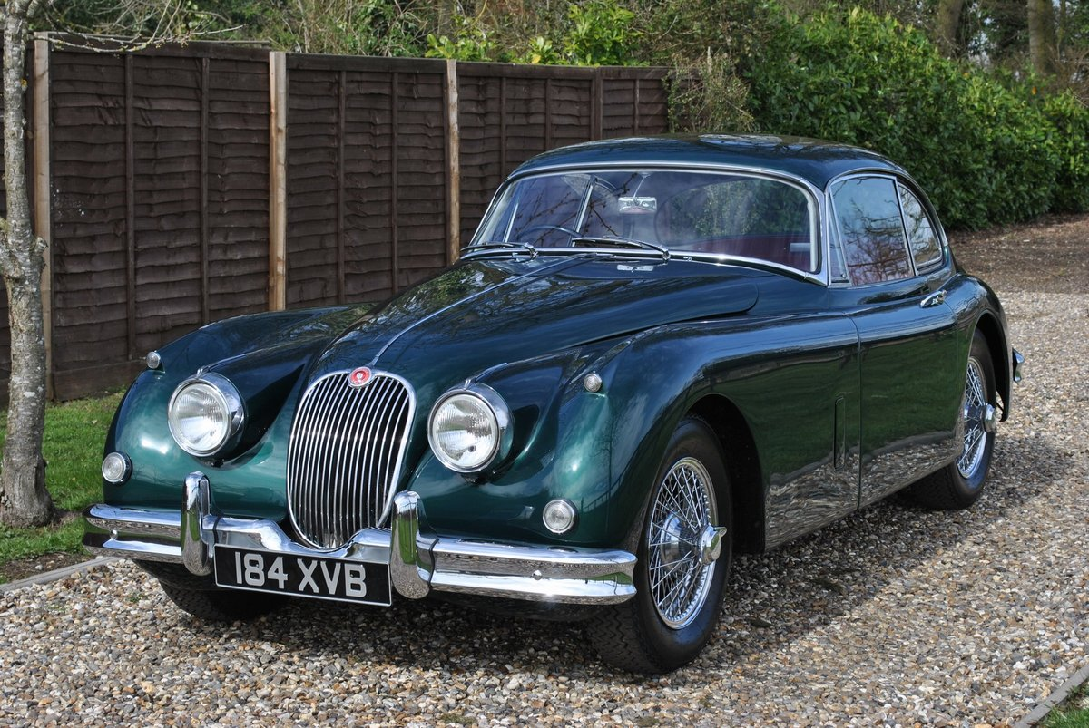 1958 Jaguar XK150 Moss Box with Overdrive Classic Car / Vintage C SOLD (picture 3 of 6)
