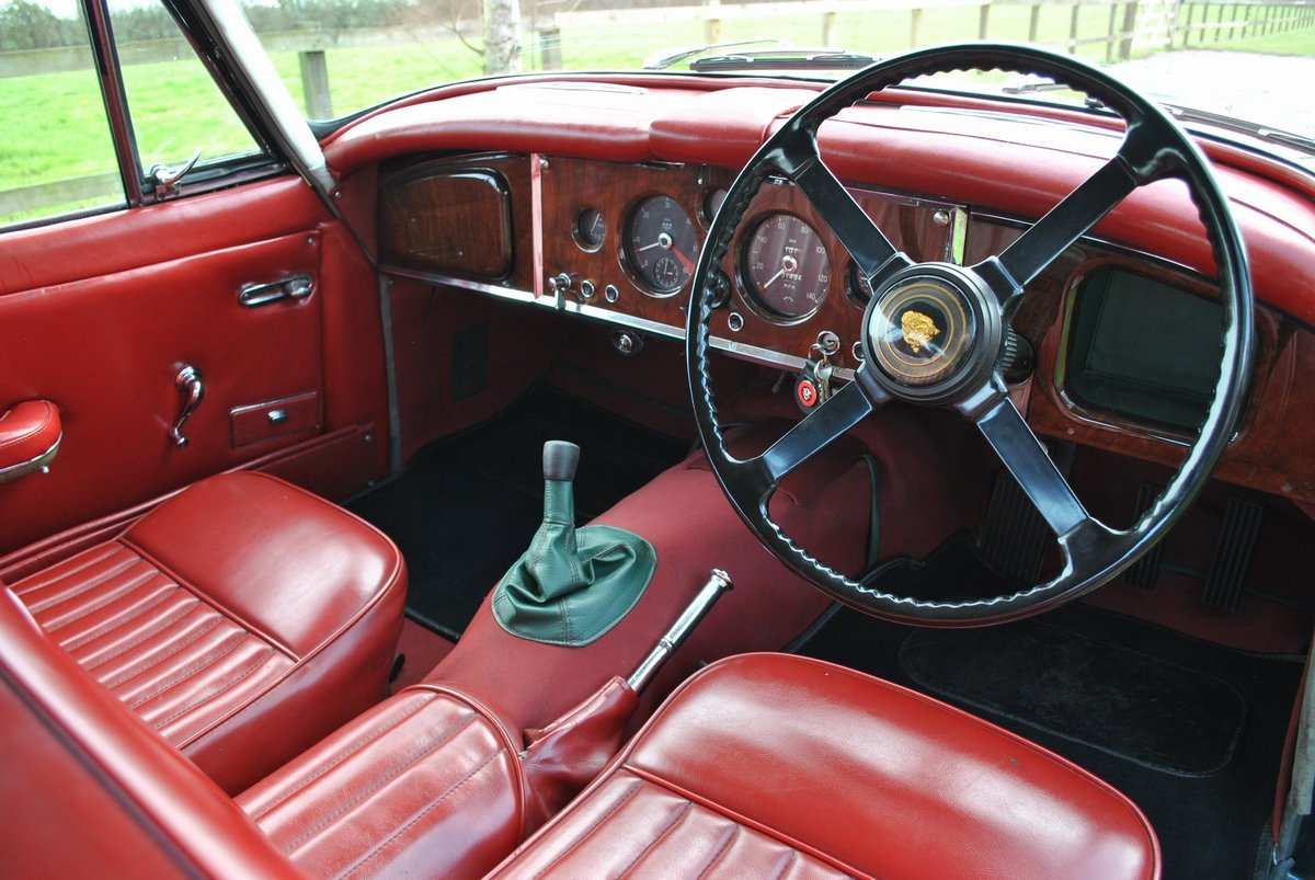 1958 Jaguar XK150 Moss Box with Overdrive Classic Car / Vintage C SOLD (picture 5 of 6)