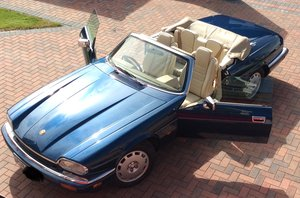1995 XJS CELEBRATION CONVERTIBLE, 3 keepers, 54k m