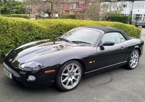 2004 Beautiful Black Jaguar XKR convertible 4.2