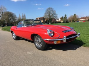 1970 Jaguar E-Type Series 2 Roadster For Sale