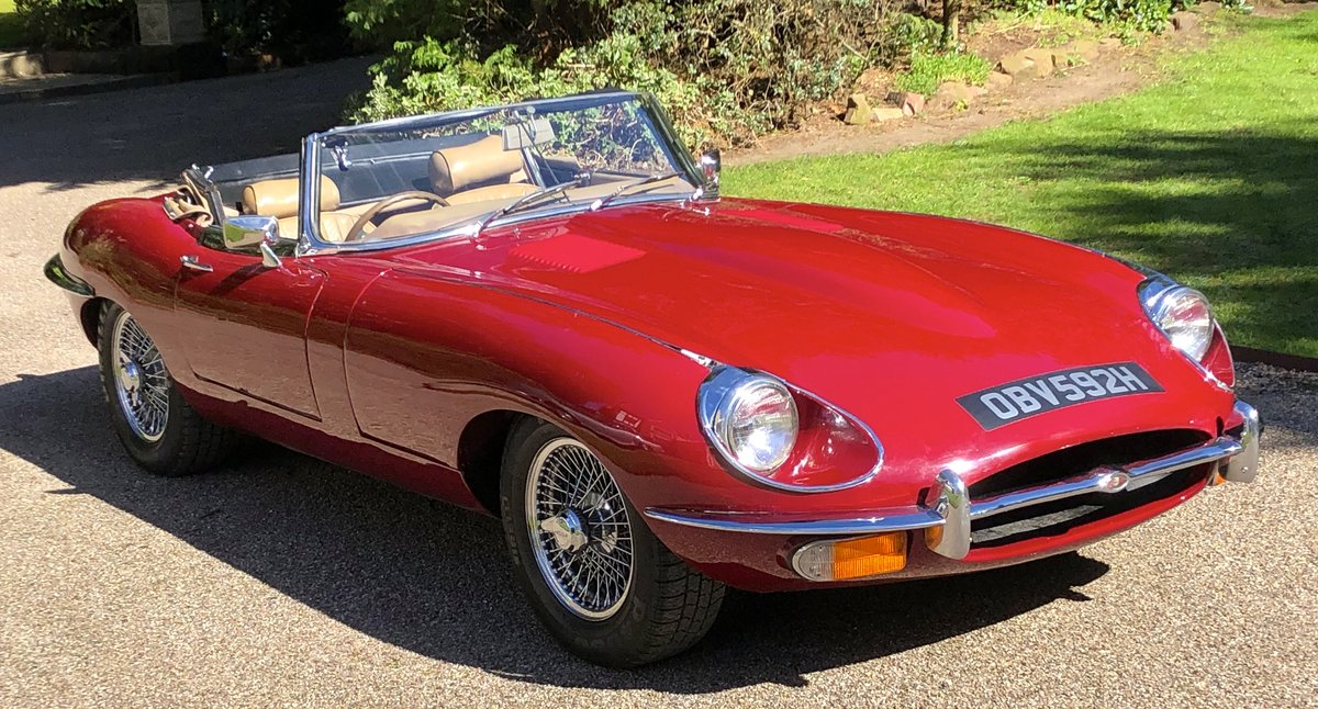 1969 JAGUAR E TYPE SERIES II ROADSTER                Manual  For Sale (picture 1 of 12)