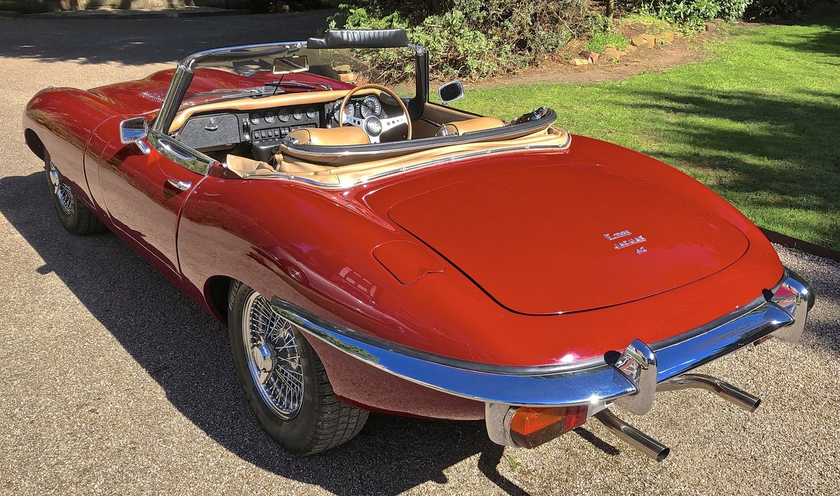 1969 JAGUAR E TYPE SERIES II ROADSTER                Manual  For Sale (picture 5 of 12)