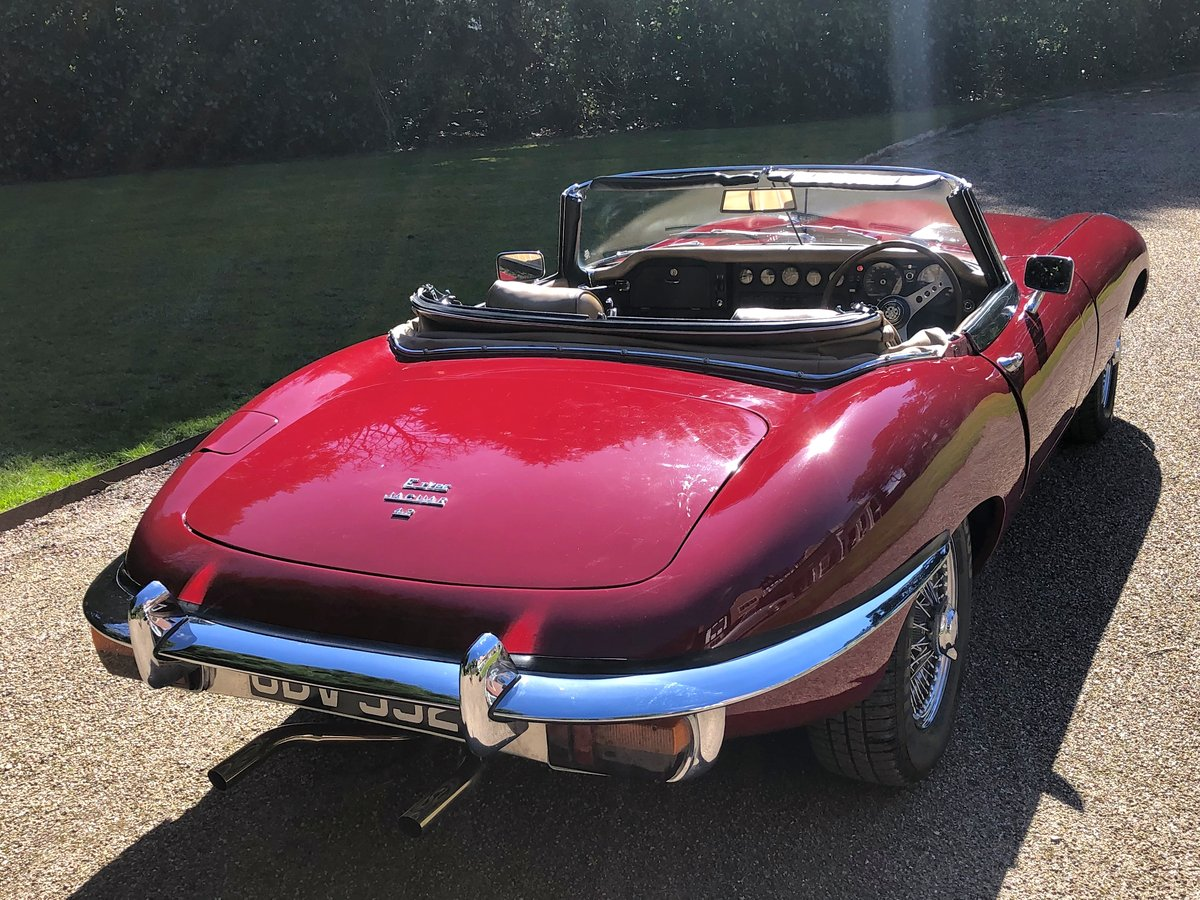 1969 JAGUAR E TYPE SERIES II ROADSTER                Manual  For Sale (picture 6 of 12)
