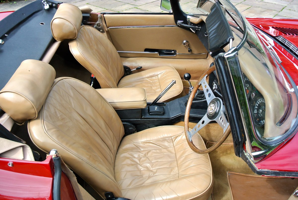 1969 JAGUAR E TYPE SERIES II ROADSTER                Manual  For Sale (picture 11 of 12)