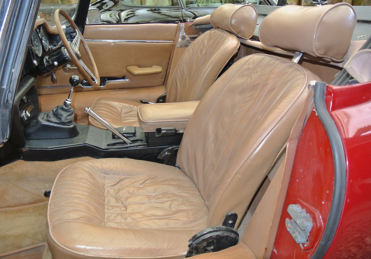 1969 JAGUAR E TYPE SERIES II ROADSTER                Manual  For Sale (picture 12 of 12)