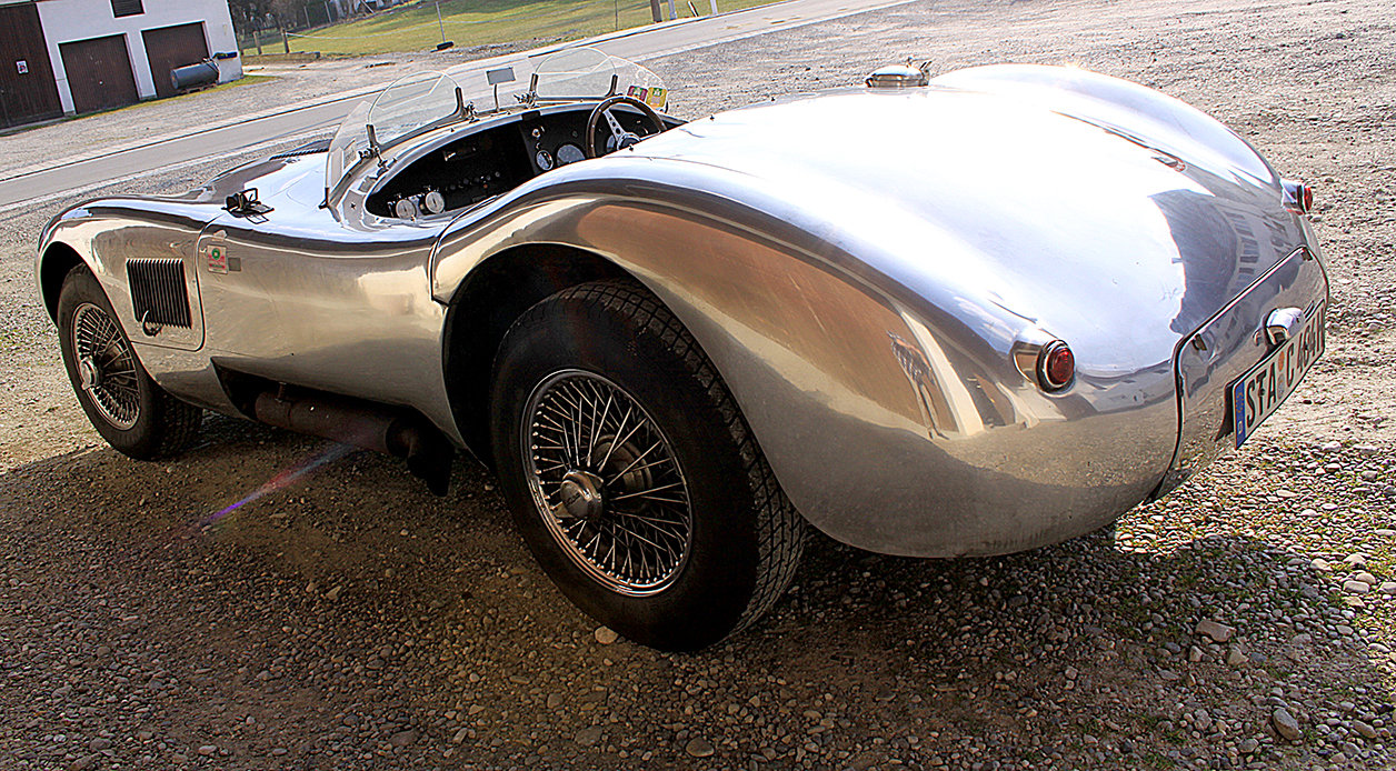 1967 Jaguar C Type (early Proteus) SOLD (picture 3 of 6)