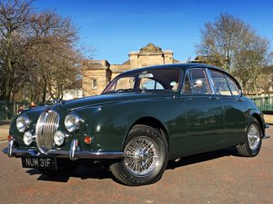 1968 Jaguar MKII 240 Manual O/D - Exceptional!!  For Sale