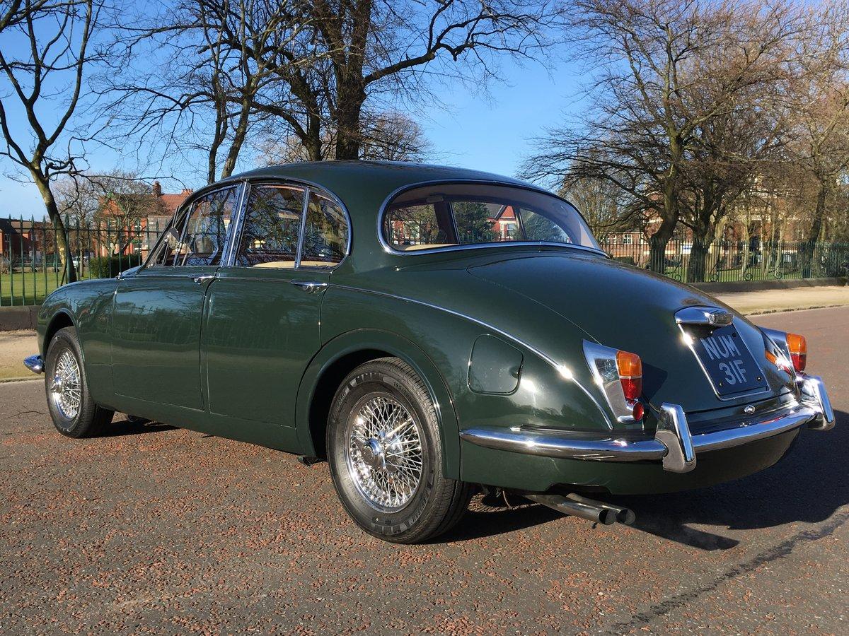 1968 Jaguar MKII 240 Manual O/D  SOLD (picture 3 of 6)