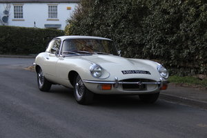1970 Jaguar E-Type Series II 4.2 FHC, UK Matching No's, 78k miles For Sale