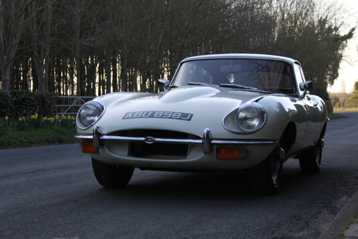 1970 Jaguar E-Type Series II 4.2 FHC, UK Matching No's, 78k miles For Sale (picture 2 of 12)