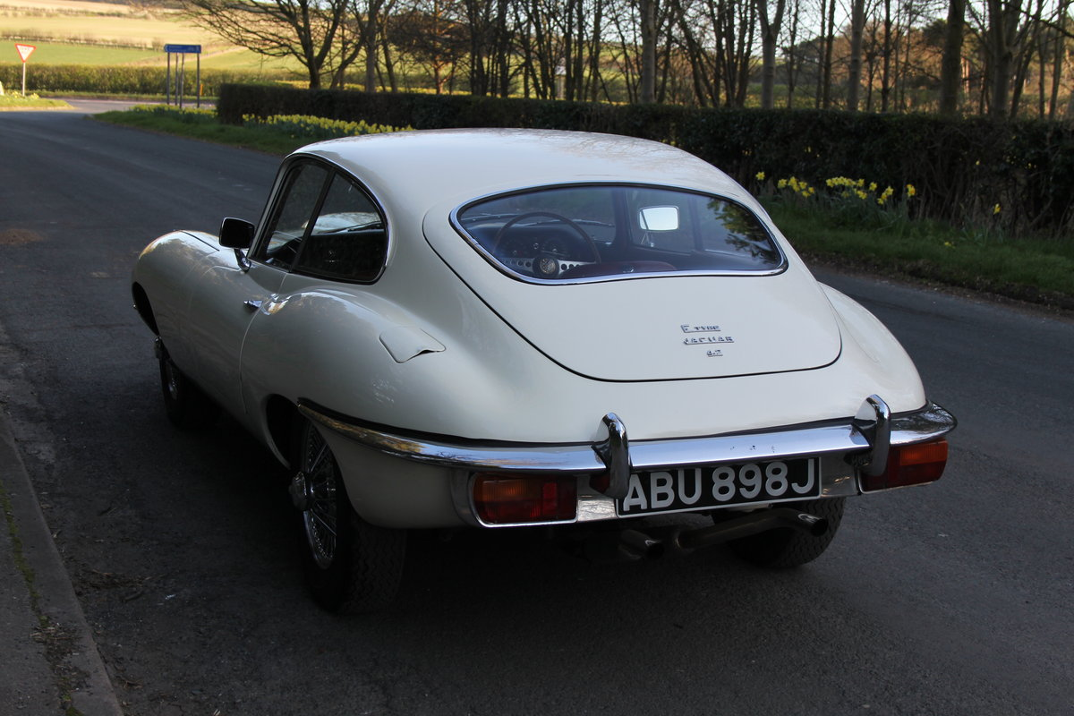 1970 Jaguar E-Type Series II 4.2 FHC, UK Matching No's, 78k miles For Sale (picture 3 of 12)