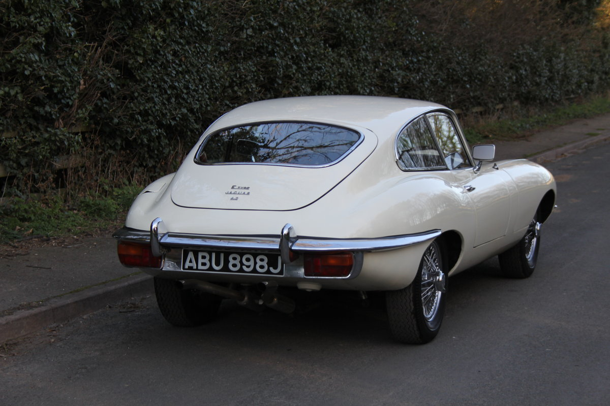 1970 Jaguar E-Type Series II 4.2 FHC, UK Matching No's, 78k miles For Sale (picture 4 of 12)