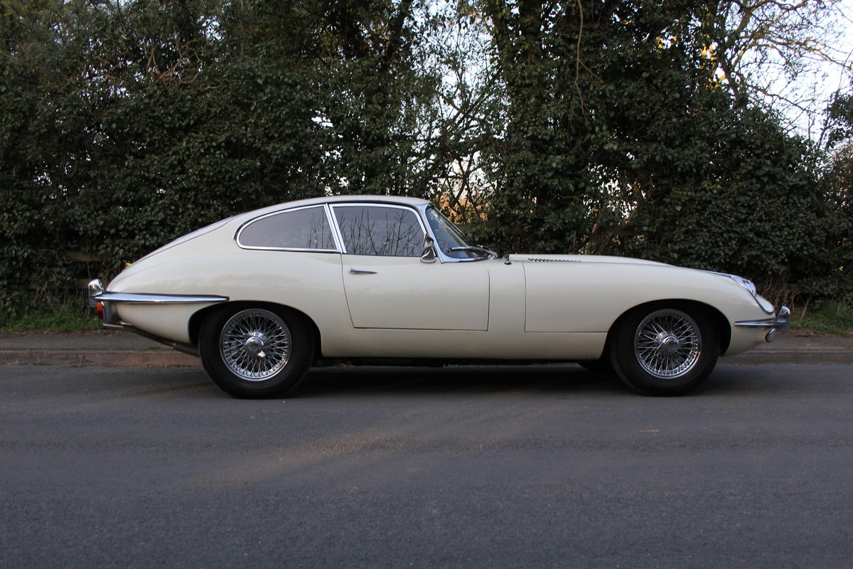 1970 Jaguar E-Type Series II 4.2 FHC, UK Matching No's, 78k miles For Sale (picture 5 of 12)
