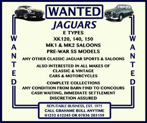 WANTED! JAGUAR Wanted