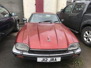 Jaguar xjs 1992 v12 facelift needs restoring For Sale