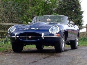 1963 Jaguar E-Type 3.8 Roadster For Sale by Auction