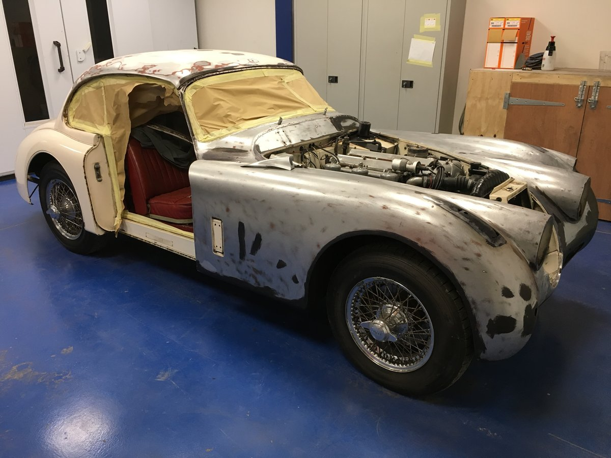 1961 Jaguar XK150S with fantastic history SOLD (picture 4 of 6)