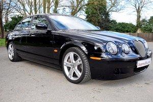 2006 2007 Model/56 Jaguar S-Type V8 R Auto in Masons Black For Sale