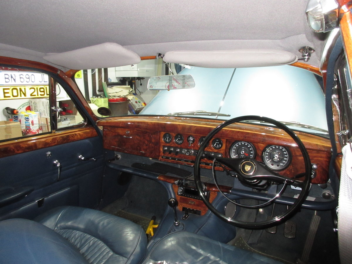 CLASSIC JAGUAR S TYPE, 1968 3.4L MANUAL WITH OD For Sale (picture 4 of 6)