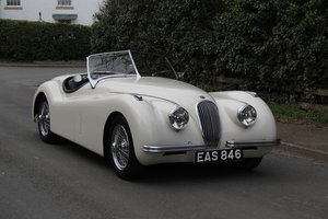 1951 Jaguar XK120 Roadster, Original RHD, Matching No's SOLD