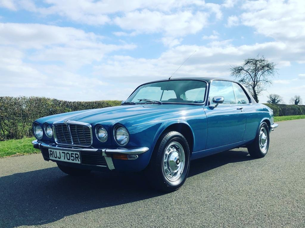 1977 Jaguar Series II XJC 4.2 Automatic SOLD (picture 1 of 6)