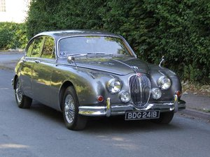 1964 Jaguar MKII 3.4 Manual with Overdrive  SOLD