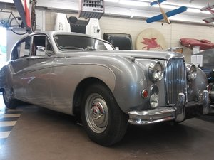 1958 Jaguar MK8. Excellent Condition.Silver/Red 25,764 miles For Sale