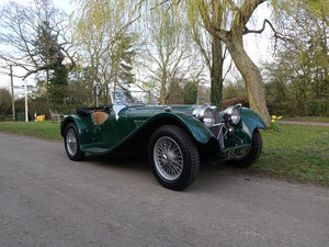 2001 Suffolk SS100 Jaguar 4.2 sports car in racing green  For Sale