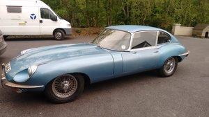 1970 Jaguar e type series 2 RHD and manual For Sale