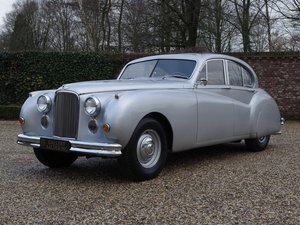 1955 Jaguar MK7 M 3.4 with sunroof, rare M version, Jaguar certif For Sale