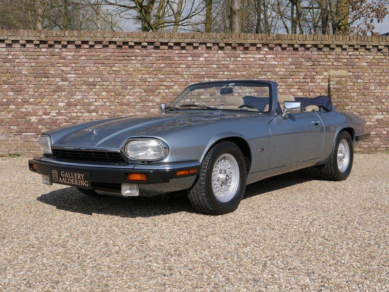 1993 Jaguar XJS 4.0 Convertible only 69.492 miles! incl. VAT For Sale (picture 1 of 6)