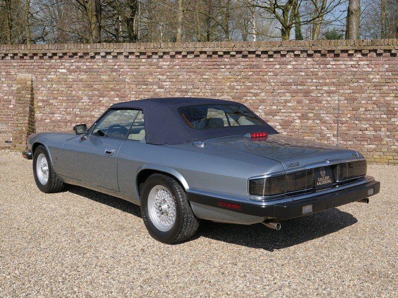 1993 Jaguar XJS 4.0 Convertible only 69.492 miles! incl. VAT For Sale (picture 2 of 6)