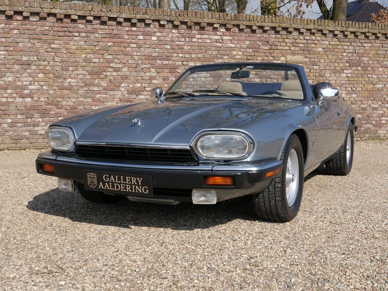 1993 Jaguar XJS 4.0 Convertible only 69.492 miles! incl. VAT For Sale (picture 5 of 6)